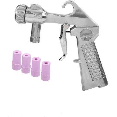pistola de chorro de arena para compresor