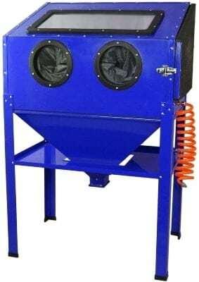 cabina chorreadora de arena cat 990 metalworks