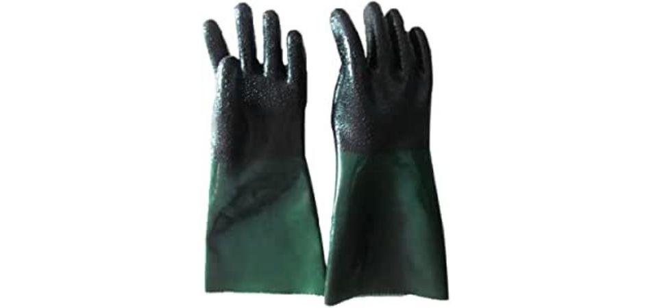 guantes chorro de arena